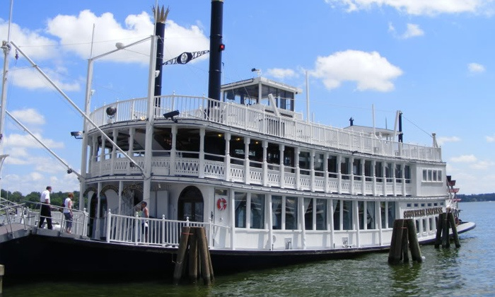 Southern Empress Cruises - Sunset Harbor Resort: Three-Hour Dinner Cruise on a Riverboat for 2, 4, 6, or 10 from Southern Empress Cruises (Up to 51% Off)