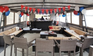 Aqua Lounge River Cruiser: 60-Minute Boat Cruise on the Vaal River from R220 for Two at Aqua Lounge River Cruiser