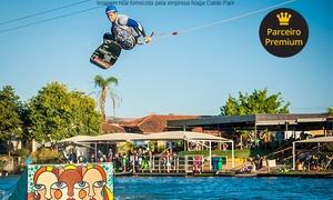 Naga Cable Park: Naga Cable Park – Jaguariúna: entrada com 1 hora de wakeboard para 1 pessoa