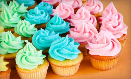 One Dozen Cupcakes or $25 for $50 Toward a Custom Cake at Bite Me Sweets NYC
