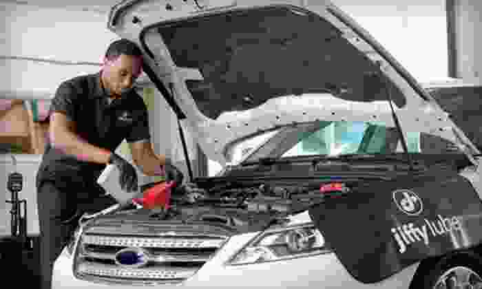 Jiffy Lube - Multiple Locations: $19 for a Signature Service Oil Change with Safety Inspection and Fluid Check at Jiffy Lube ($41.99 Value)