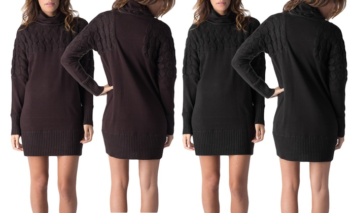750f00c2f7b8 Women's Cable Knit Sweater Dress | Groupon Goods