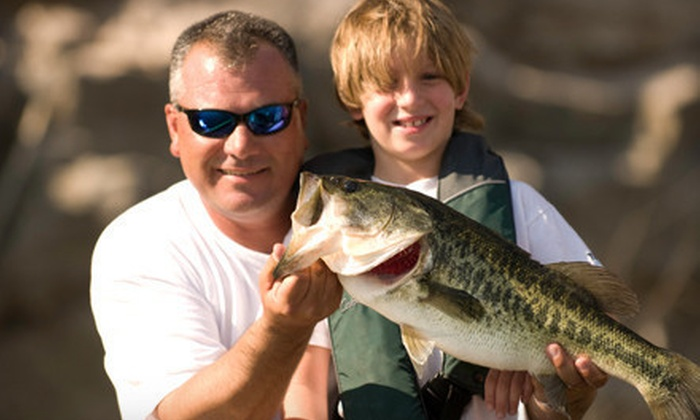 The Hook Up Outfitters - Peoria: Four-Hour Fishing Trip for One or Two at The Hook Up Outfitters in Peoria (Up to 57% Off)