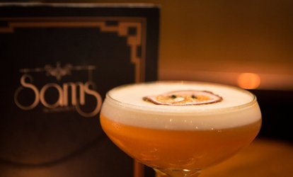 image for One-Hour Cocktail Making Class for Up to Four at Sams Bar, Dawson Street (Up to 51% Off)
