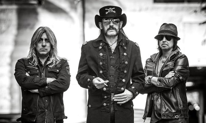 Motorhead : Anthrax : Crobot - Pompano Beach Amphitheater: Motörhead, Anthrax, and Crobot (Saturday, September 26, at 7 p.m.)