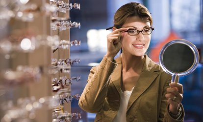 image for Prescription Eyewear Plus a Complimentary Second Pair at Vogue Optical (87% Off)