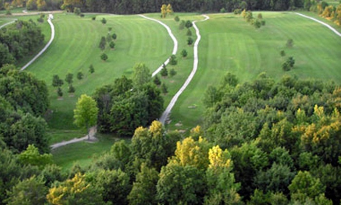 Deer Pass Golf Course - Seville: 18-Hole Round of Golf and Cart for Two or Greens-Fee Membership at Deer Pass Golf Course (Up to 50% Off)