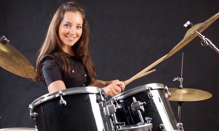 2x oder 3x 60 Min. Schlagzeug-Einzelunterricht bei Fat Cat Drums (bis zu 89% sparen*)