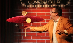 Flappers Comedy Club: Standup with Chicken Wings and Dessert for Two at Flappers Comedy Club (Up to 57% Off)
