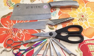 Ron Berman Sharpening: Sharpening for 12 Knives or 8 Pieces at Ron Berman Sharpening (Up to 47% Off)