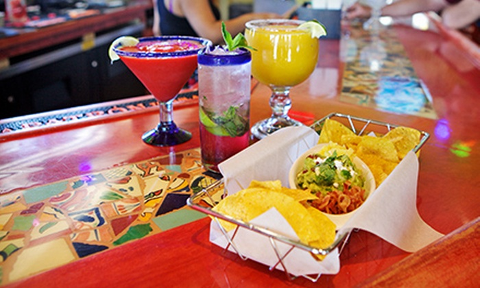 Sergio's Cantina - Geneva: $10 for $20 Worth of Mexican Food and Drinks on the Daiquiri Deck at Sergio's Cantina