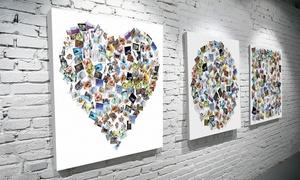 4MyArt: Od 49,99 zł: Fotoobraz z kolażem Twoich zdjęć na 4MyArt.pl (do -57%)