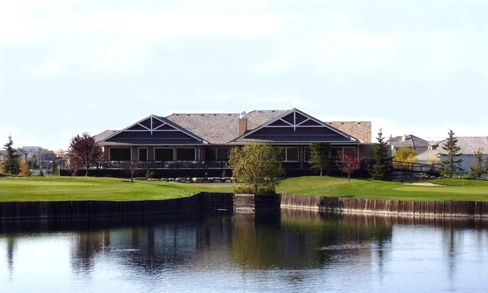 Lakeside Golf Club - Southeast Calgary: 18-Hole Round of Golf & Cart for 2 or 4 with Bucket of Range Balls at Lakeside Golf Club (Up to 50% Off)
