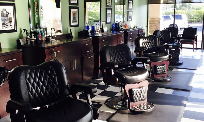 The Razor's Edge BarberShop - The Razor's Edge BarberShop: One Men's Haircut with Optional Shampoo and Neck Shave at The Razor's Edge BarberShop (Up to 38% Off)