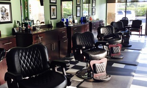 The Razor's Edge BarberShop: A Men's Haircut from The Razor's Edge BarberShop (38% Off)