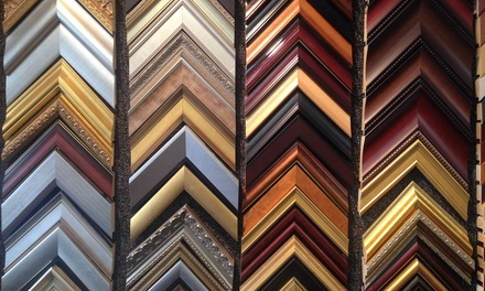 $19 for $100 Worth of Custom Framing at Picture Framing Outlet