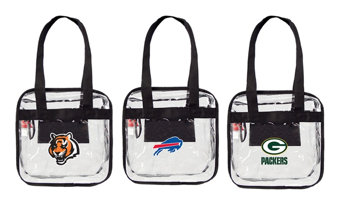NFL Clear Ultimate Carryall: NFL Clear Ultimate Carryall. Multiple Teams Available.