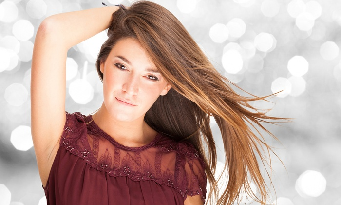 First Impression Salon & Spa - San Antonio: Haircut with Color Touchup or Highlights at First Impression Salon & Spa (Up to 56% Off)