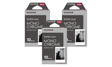 Fujifilm Instax Monochrome Instant Film (2- or 3-Pack)