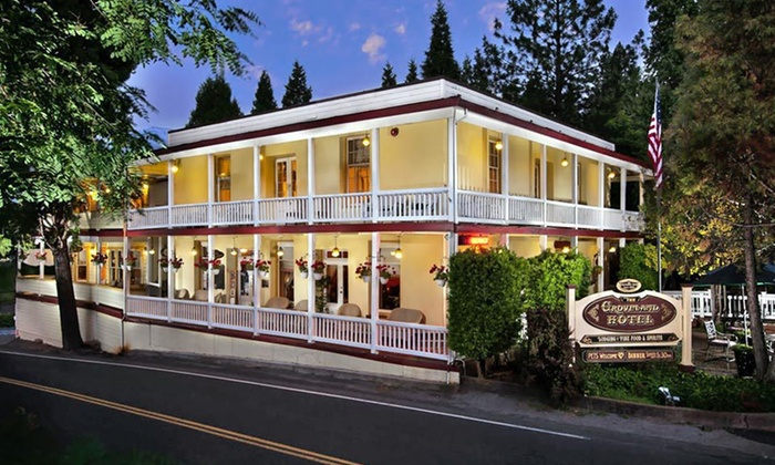 The Groveland Hotel - Greater Yosemite, CA: Two-Night Stay with Breakfast and Dinner Credit, Champagne, and Wine Tasting at The Groveland Hotel in Groveland, CA