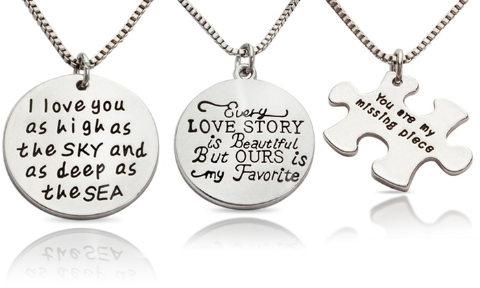 Stamp the Moment: Love Necklaces from Stamp the Moment