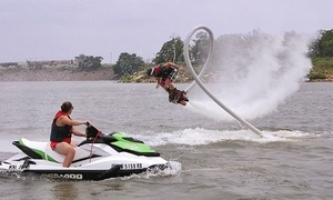 Red Dirt Flyboard: 30-Minute Flyboard Session for One or Two from Red Dirt Flyboard (Up to 54% Off)