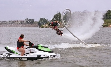 30-Minute Flyboard Session for One or Two from Red Dirt Flyboard (Up to 54% Off)