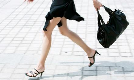 Ladies' Heel Repair, Men's Heel Replacement, or $10 for $20 Toward Handbag Repair at Houston Shoe Hospital