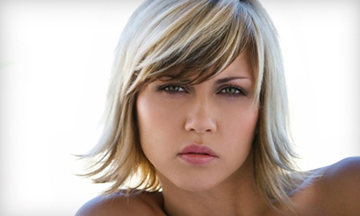 EnVision Hair Studio - EnVision Hair Studio: Haircut with Deep-Conditioning Treatment and Optional Partial or Full Highlights at EnVision Hair Studio (Up to 63% Off)