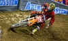 AMSOIL Arenacross - Save Mart Center: One Ticket to AMSOIL Arenacross at the Save Mart Center on April 25 (Up to 44% Off). Two Seating Options Available.