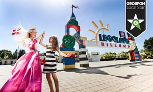 LEGOLAND®: Niezapomniane atrakcje dla całej rodziny od 329 zł w parku LEGOLAND® w Billund w Danii (do -50%)
