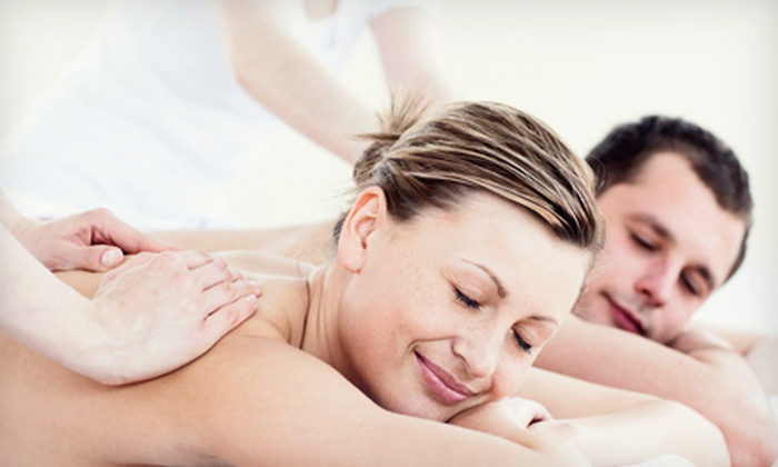 Body Lounge Spa - Sherman Oaks: $99 for a Couples Hot-Stone Massage Package with Wine and Chocolate at Body Lounge Spa in Sherman Oaks ($260 Value)