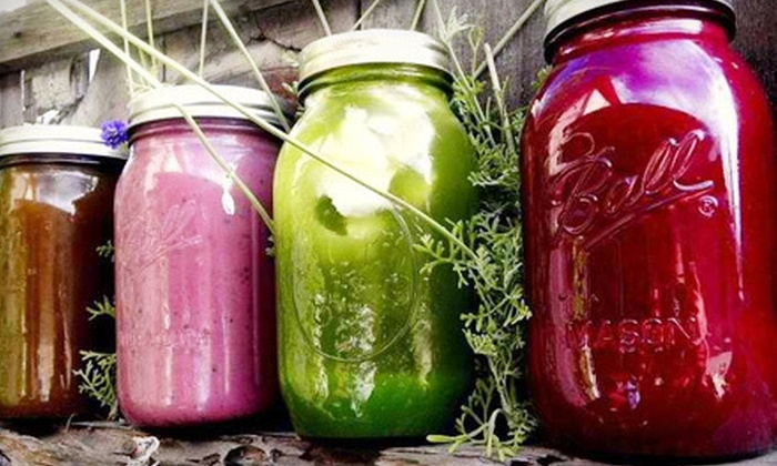 Earthly Juices - Tustin: One-Day, Two-Day, or Weekend Warrior Juice Cleanse at Earthly Juices (Up to 51% Off)