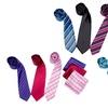 Berlioni Matching Tie and Handkerchief Sets