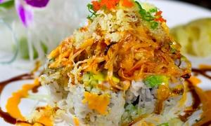 Yama Sushi Japanese Restaurant: Japanese Cuisine on Weekdays or Weekends at Yama Sushi Japanese Cuisine (Up to 55% Off)