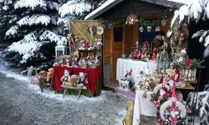 Bergischer Weihnachtsmarkt im Wald: Wertgutschein über 34,95 € anrechenbar auf Weihnachtsmarkt-Besuch auf dem Bergischen Weihnachtsmarkt im Wald