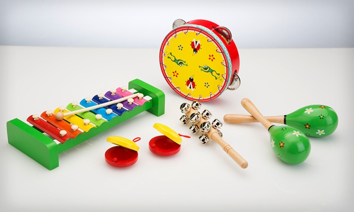 Band in a Box Set of Kids' Instruments: $20 for an Imagine Nation Band in a Box Set of Children's Instruments ($39.95 List Price). Free Shipping and Returns.