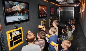 Gamin' Ride: 90-Minute Video-Game Party for Up to 16 Kids from Gamin' Ride (Up to 50% Off). Two Options Available.