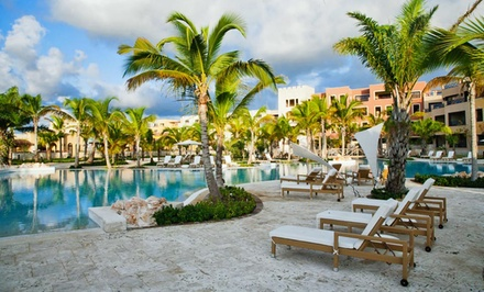 groupon daily deal - 3-, 4-, 5-, or 7-Night All-Inclusive Stay for 2 at Alsol Luxury Village in Dominican Republic. Includes Taxes and Fees.