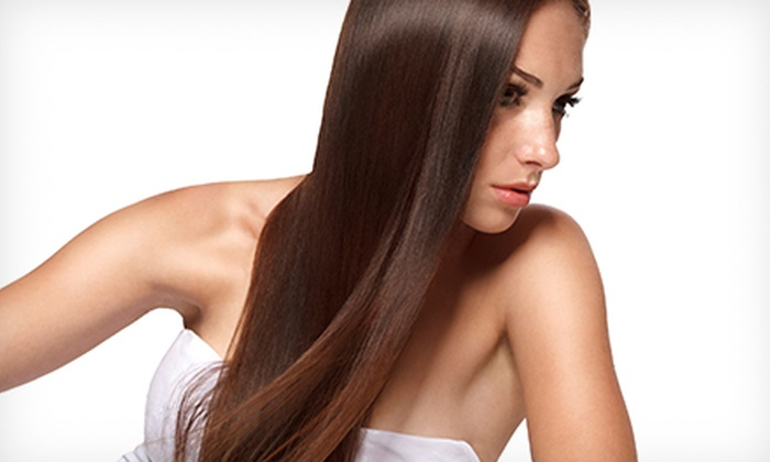 Eddie Fancher at Studio 7 Salon - Studio 7 Salon: One or Two Groupons, Each Good for a Keratin Treatment and Haircut from Eddie Fancher at Studio 7 Salon (Up to 62% Off)