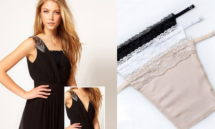 Sell Car For Cash >> Lace Trim Cleavage Cover Inserts | Groupon Goods