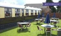 York: 1- or 2-Night Stay in a Railway Carriage for Two with Breakfast and Dinner at The Sidings Hotel