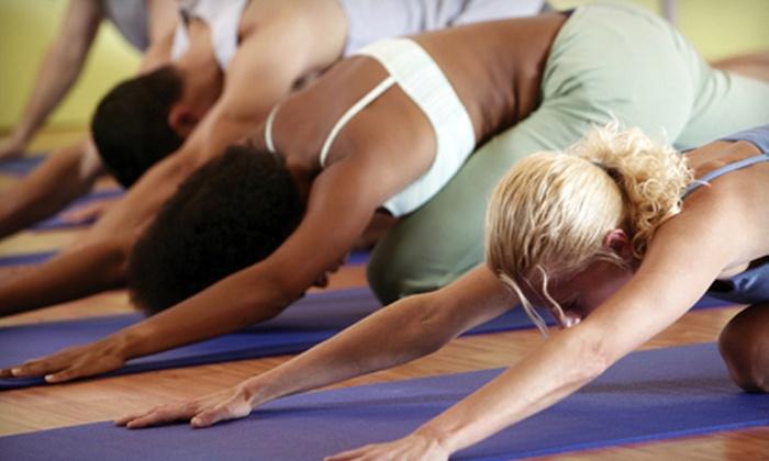 Higher Power Yoga - South Trenton: 10 or 20 Yoga Classes at Higher Power Yoga Studio in Trenton (Up to 81% Off)