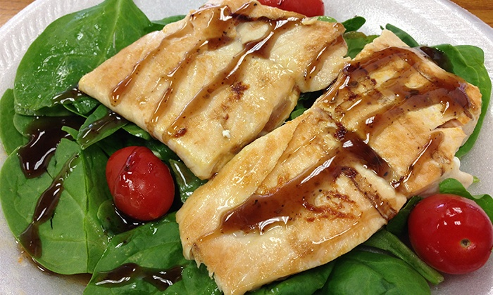 Fix8 Fitness Cafe - Paradise: $7 for $14 Worth of Healthy Food at Fix8 Fitness Cafe