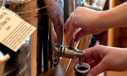 1-Hour Olive Oil Class and Tasting with Bottles of Olive Oil for 1 or 2 at Mountain Town Olive Oil (Up to60% Off)