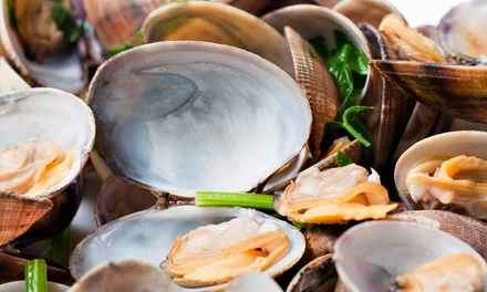 Seafood and Italian Cuisine at Docks Clam Bar & Pasta House (Up to 50% Off). Two Options Available.