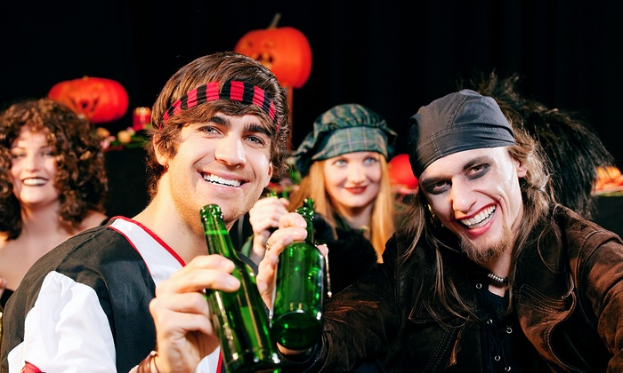 San Diego Zombie PubCrawl - Taste/Thirst: Halloween Pub Crawl for Two at San Diego Zombie PubCrawl (50% Off). Three Options Available.