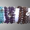 Genuine Gemstone Wrap Bracelets