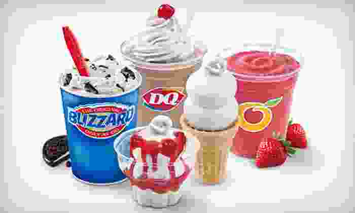 Dairy Queen/Orange Julius - The Transit Center: Four Groupons, Each Good for $5 Worth of Cakes and Frozen Treats at Dairy Queen/Orange Julius ($20 Total Value)