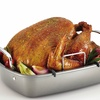 "Circulon Nonstick 17""x13"" Roasting Pan with U-rack"